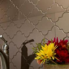 Fasade Monaco 18 In X 24 In Cracked Copper Vinyl Decorative Wall