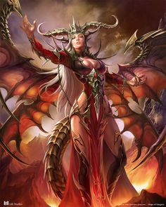 Reign of Dragons,Azi Dahaka by YANCHEN