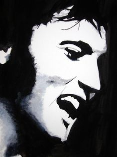 Elvis Presley Art - by mixtapegoddess