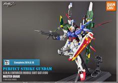 "MG 1/100 Aile Strike Gundam ""Perfect Strike"" Ver. RM - Custom Build - Gundam Kits Collection News and Reviews"