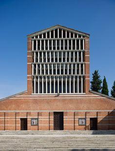 1957 Chiesa di San Giovanni al Gatano / Saverio Muratori DISABLED COLUMNS