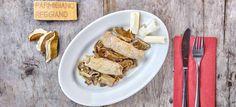 Involtini aus der Rifugio Lagdei Parmigiano Reggiano, Rind, French Toast, Beef, Breakfast, Rouladen, Top Recipes, Italian Cuisine, Mushrooms