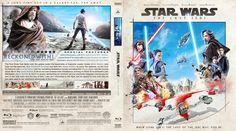 Star Wars Episode VIII - The Last Jedi Blu-ray Custom Cover