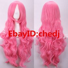 Giffany Gravity Falls, Red Wigs, Felicia, Hair Extensions, Curly Hair Styles, Hair Care, Cosplay, Party, Pink