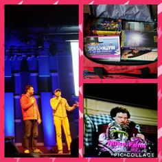 Attended Found Footage Festival Volume 8 at World Cafe Line in Philadelphia, PA, on Thursday, March 2, 2017. FYI - Mike is FAMOUS, and got his name in the credits from his many VHS contributions. In the photo collage you can see the duffel bag full of newly found VHS tapes for Nick Pruher & Joe Pickett.