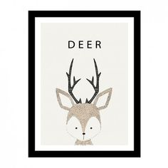 'Little Creatures' - Kids Canvas Art Prints Kids Canvas Art, Canvas Art Prints, Canvas Wall Art, Deer Vector, Vector Art, Cerf Design, Mockups Gratis, Hirsch Design, Poster A3