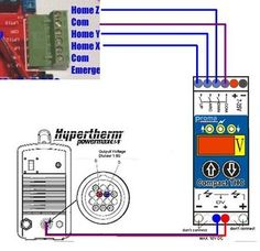 how to connect and setup torch height control thc for plasma rh pinterest co uk CNC Driver Diagram Cnc Axis Diagram