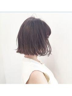 潔いシルエットに、きゅん。切りっぱなしヘアだけのヘアカタログ (2ページ目)|MERY [メリー]