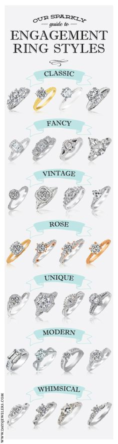 What style are you?   Engagement Ring Styles by Day's Jewelers