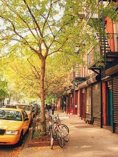 East Village, NYC ~ Autumn