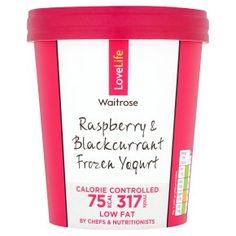 LOVE life you count raspberry frozen yogurt by Waitrose