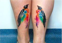 penguin ink by Rodrigo Tas