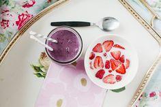 blackberry milkshake. by hjartesmil, via Flickr