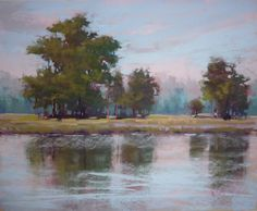 'River of Inspiration' 16 x 20 pastel ©Karen Margulis available $250     No one told me it would be ...