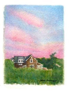 https://flic.kr/p/L33f6n | house portrait | fire island house (blogged about here: www.jillianhollmann.com/blog/almost-4-months)