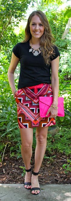 super cute and the skirt has pockets! via @J's Everyday Fashion