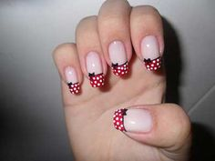 Minnie Mouse Nail Designs Picture nail designs and nail art latest trends nails bow nail Minnie Mouse Nail Designs. Here is Minnie Mouse Nail Designs Picture for you. Bow Nail Art, Cute Nail Art, Cute Nails, My Nails, Mickey Nails, Minnie Mouse Nails, Mickey Mouse, Disney Nail Designs, Cute Nail Designs