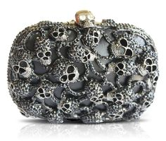 clutch | Bolsa Clutch De Caveiras Mcqueen Inspired Luxo!!!