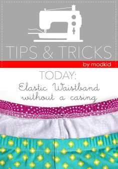 Tips & Tricks: Elastic Waistband