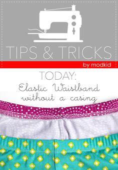 Tips & Tricks: Elastic Waistband