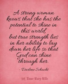 ~A Strong Woman...~