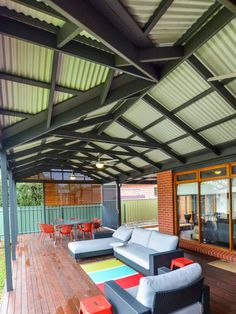 gable-pergola-colorbond-roofing