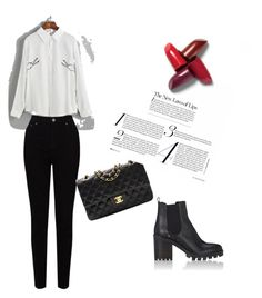 """""""Untitled #42"""" by amela-besic ❤ liked on Polyvore featuring EAST, Barneys New York and Chanel"""