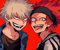 I thought Bakugou was missing an iris and pupil for a second.