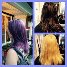 From brown to purple! 2015