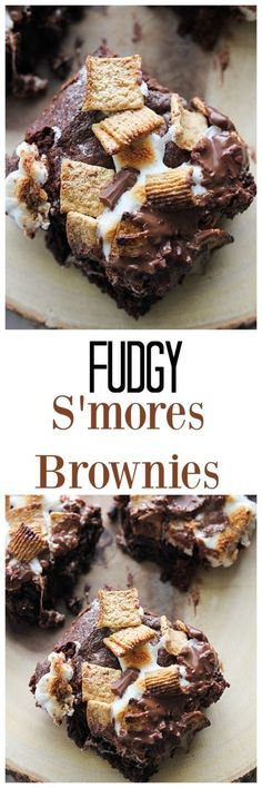 Fudgy S'mores Bars