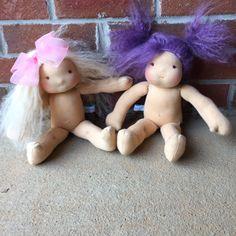 Waldorf Inspired Doll van SweetBitsofBliss op Etsy