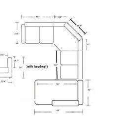 Average Sectional Sofa Size