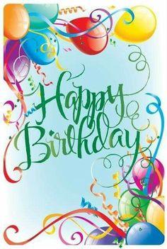 Happy Birthday - balloons #compartirvideos.es #happybirthday                                                                                                                                                      More
