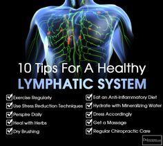 10 Ways to Improve Your Lymphatic System…