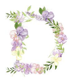 Dottie Goes Pop sub logo design of florals & foliage