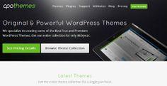 CPO Themes - A new Wordpress Premium Theme Shop - Platina Studio Blog