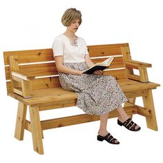 8 Foot Picnic Table Plans | Home / Media / Woodworking Plans / Picnic Table / Bench Combo Plan