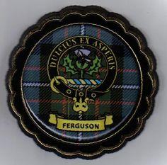 feguson crest | Ferguson Clan Crest: Upon a chapeau, a bee on a thistle. Ferguson Clan ...