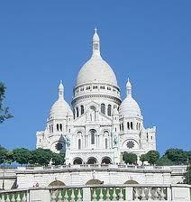 Basilica of the Sacred Heart, Montmartre, Paris, France