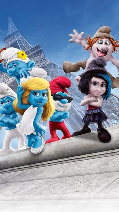 The Smurfs 2 Phone Wallpaper Abstract Iphone Wallpaper, Funny Iphone Wallpaper, Emoji Wallpaper, Cute Disney Wallpaper, Movie Wallpapers, Cute Wallpapers, The Smurfs 2, Happy Movie, Smurfette