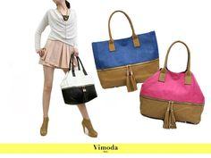 Les sacs bicolores chez Vimoda Paris, il y en a pour tous les goûts! #maroquinerie #sac #collection #look
