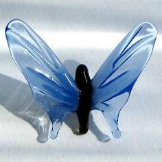 Butterfly with blu wings