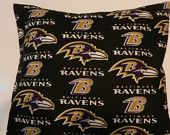 Baltimore Ravens Decorative Throw Pillow