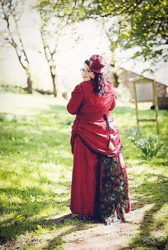 UM PEACOCK WEDDING DRESS