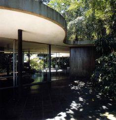 Casa das Canoas, Rio de Janeiro, 1950-54,  Arqtº Oscar Niemeyer