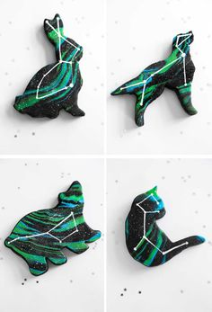 Animal Constellation Cookies – Les jolis cookies étoilés de Sprinklebakes