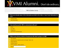 VMI Foundation PURL Landing Page