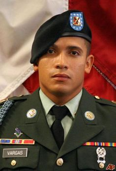 Army Spc. Anthony Vargas Died November 8, 2010 Serving During Operation Enduring Freedom 27, of Reading, Pa.; assigned to 1st Squadron, 61st Cavalry Regiment, 4th Brigade Combat Team, 101st Airborne Division (Air Assault), Fort Campbell, Ky.; died Nov. 8 in the Khogani district of Nangarhar province, Afghanistan, of wounds suffered when insurgents attacked his unit using an improvised explosive device.