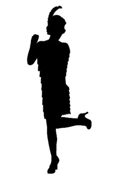 flapper 2 silhouette