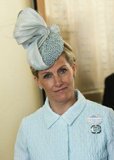 Countess of Wessex, June 17, 2014 in Jane Taylor | Royal Hats..... Royal Ascot Day 1: The British Royal Family....Posted on June 18, 2014 by HatQueen